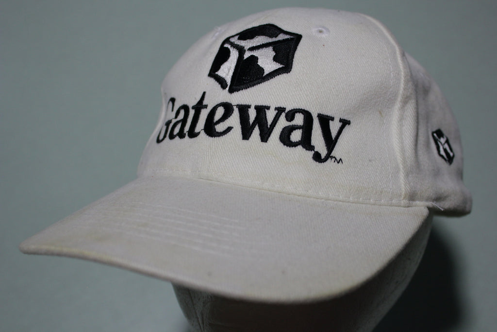 Gateway Computers Vintage 90's Sportsman Adjustable Back Hat
