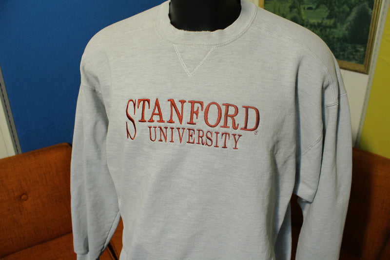 Stanford University Vintage 80's Russell Athletic Sweatshirt Made in USA Crewneck