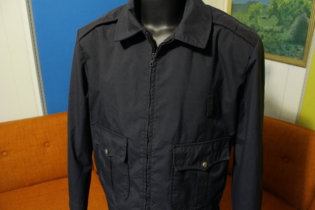 Fechheimer Flying Cross Waterproof Police Uniform Jacket Navy Blue 46R XL