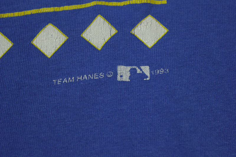 Milwaukee Brewers Vintage 1993 Single Stitch 90's Hanes T-Shirt