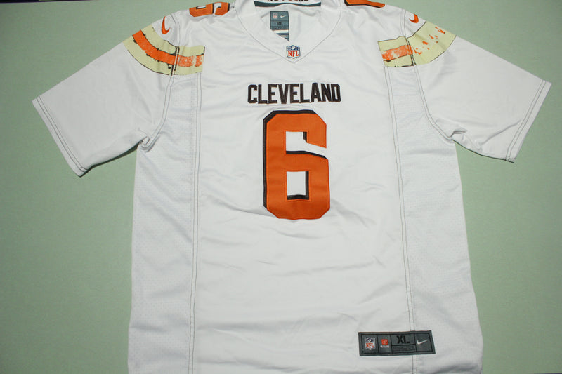 Baker Mayfield #6 Cleveland Browns Faded Nike Football Jersey