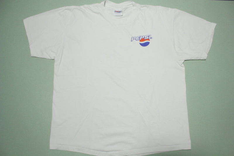 Pepsi Choose Your Music Compact Disc 2000 CD Warner Bros Promo T-Shirt