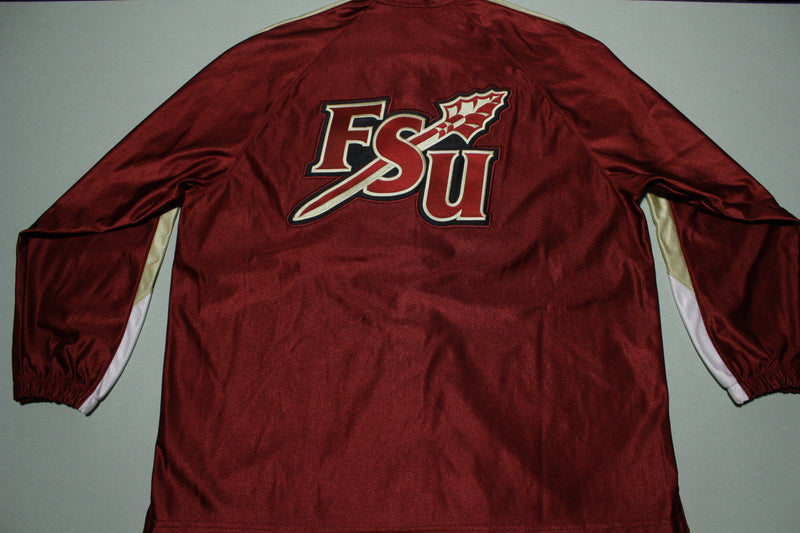 FSU Seminoles Vintage 90s Nike Deadstock NWOT Florida State Warm Up Jacket