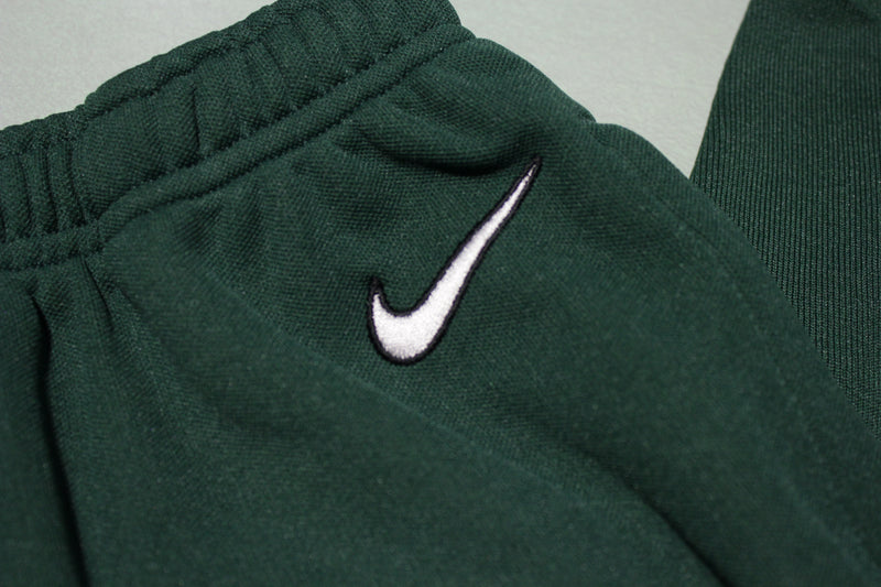Nike Vintage White Tag 90's Green Coca Cola Track Jogging Windbreaker Sweat Pants