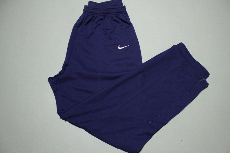 Nike Vintage White Tag 90's Blue USA Made Track Jogging Windbreaker Sweat Pants