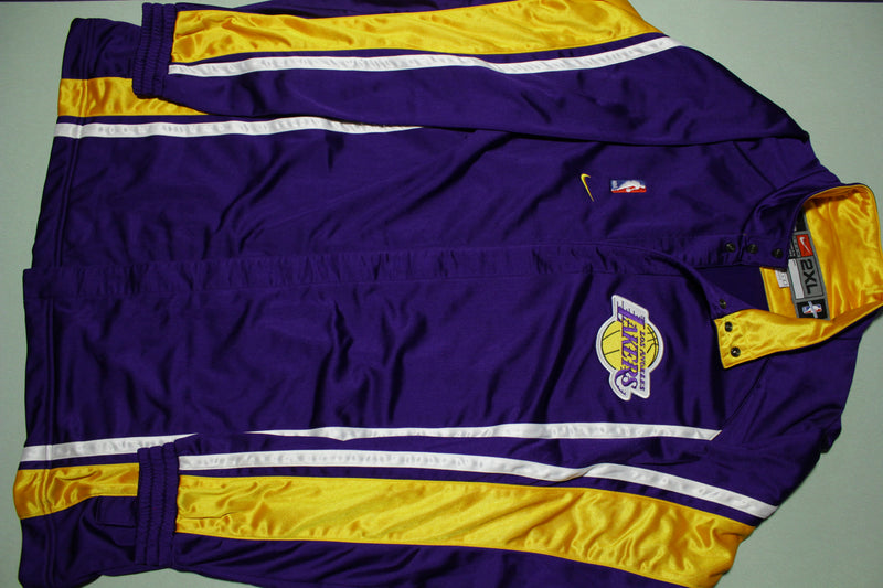 Los Angeles Lakers Vintage 90s Nike Team Game Issue 1999-00 NWOT Warm Up Jacket