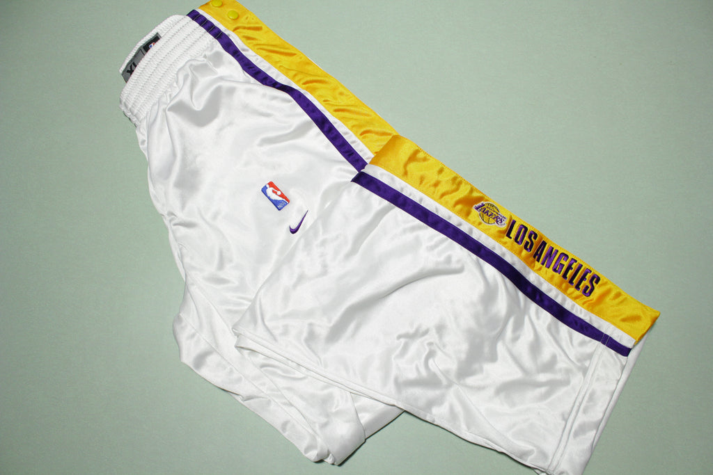 Los Angeles Lakers Vintage 90s Nike Team Game Issue 1999-00 NWOT Warm Up Pants