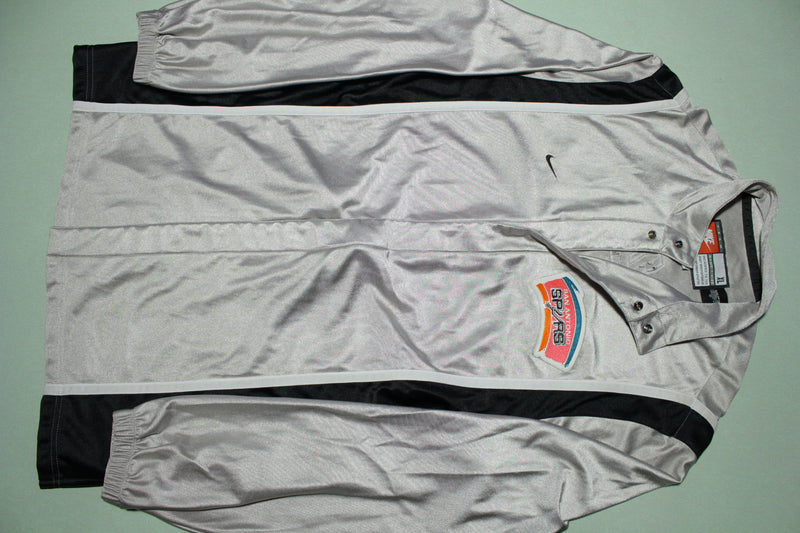 San Antonio Spurs Vintage 90s Nike Team Game Issue 1999-00 NWOT Warm Up Jacket