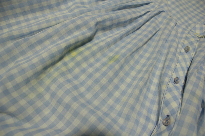 Exclusive Lady Bird Classics 1950s Vintage Plaid Checkered Farm Dress