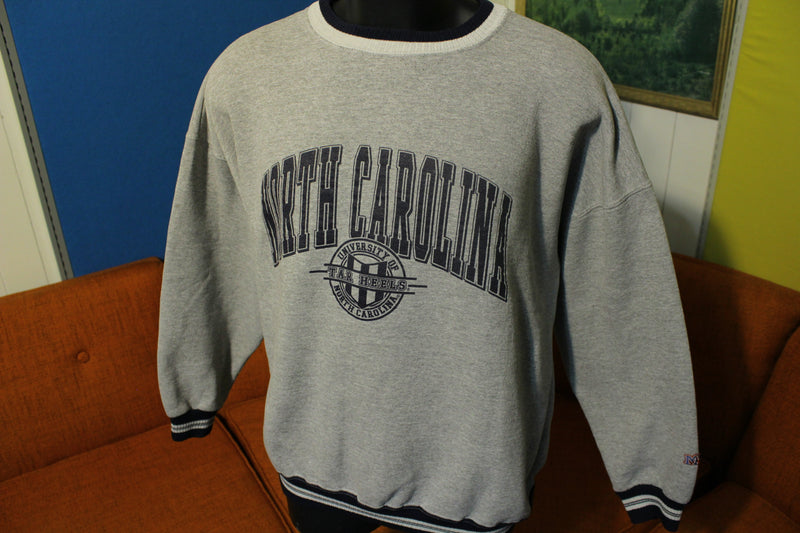 University of North Carolina Tar Heels XL Vintage 90's Pullover Crewneck Sweatshirt