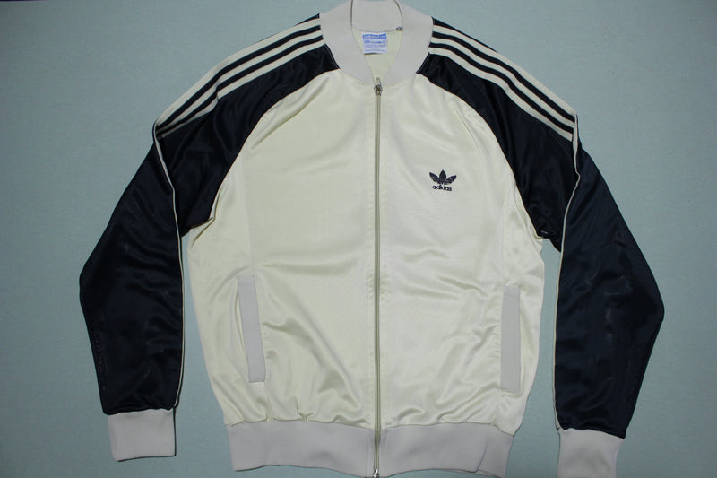 Adidas ATP Keyrolan Vintage Made in USA 80's Striped Track Warm Up Jacket