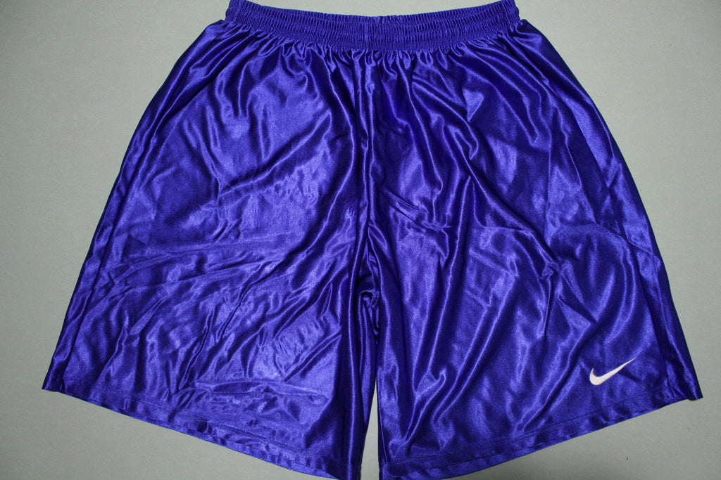 Nike Authentic 90's White Tag Made in USA Blue Shorts