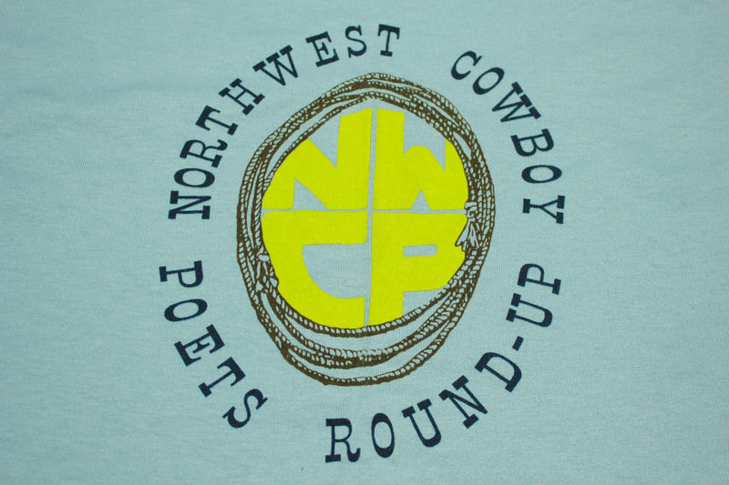 Northwest Cowboy Poets Roundup Pendleton Screen Stars 90s T-Shirt Made in USA