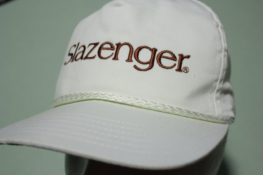 Slazenger Made in USA Vintage 90's Official Adjustable Back Hat