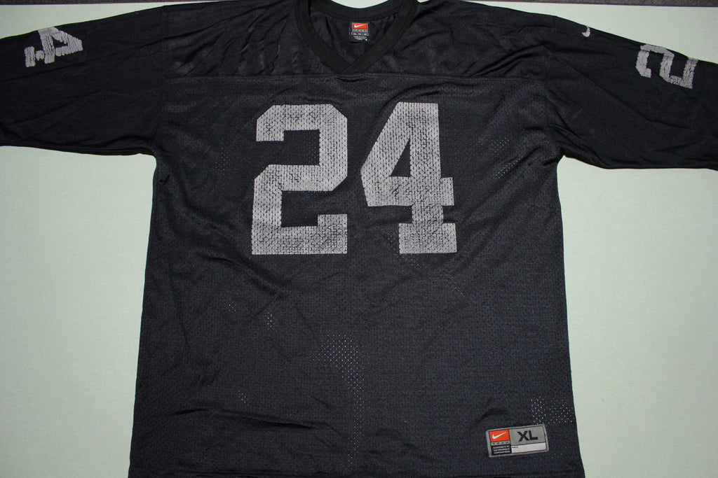 Charlie Woodson #24 Oakland Raiders Nike Vintage 90s 00s Jersey
