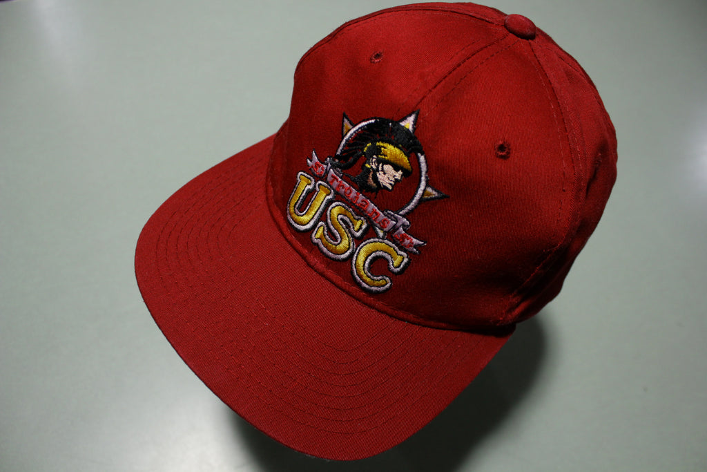 USC University of Southern California Vintage 90's Trojans Starter Adjustable Back Hat