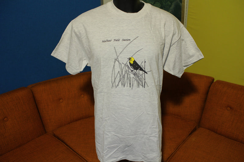 Malheur Field Station Vintage 80's Field Bird T-Shirt.