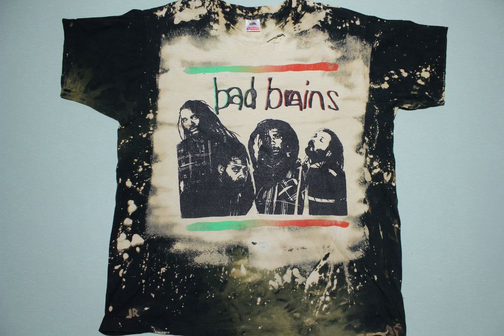 Bad Brains Mosquitohead Vintage Bleached 80's Made in USA Washington DC T-Shirt