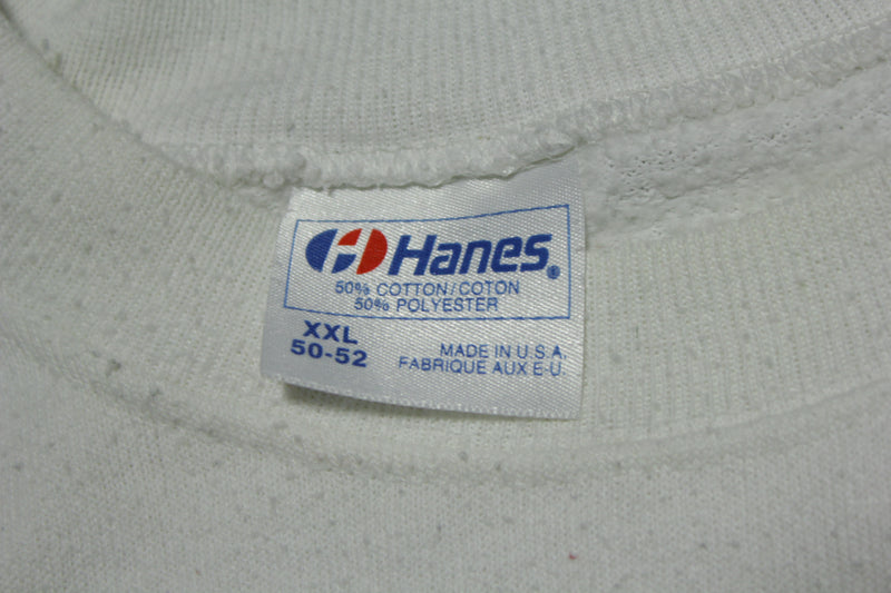 Tri-City Americans Vintage 90's Made in USA Hanes Crewneck Team Sweatshirt