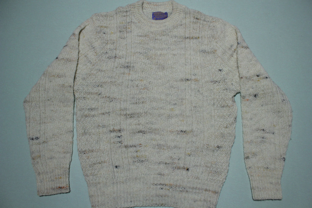 Pendleton 1960's Made in USA Wool Knit Pullover Warm Fireside Sweater