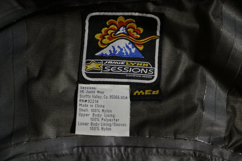 Sessions Signature Design Jamie Lynn Ski Snowboard Jacket Coat Hoodie