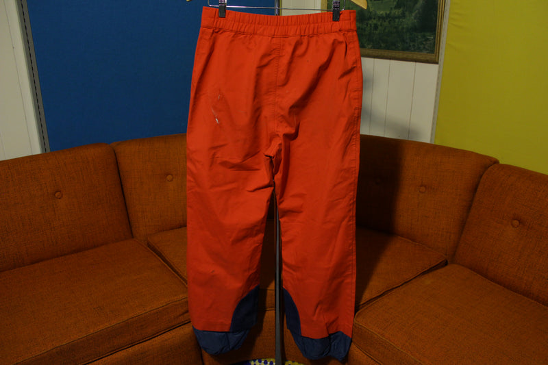 North Face Extreme Vintage Bright Red Snow Ski Snowboard Pants. 80s Gore-Tex