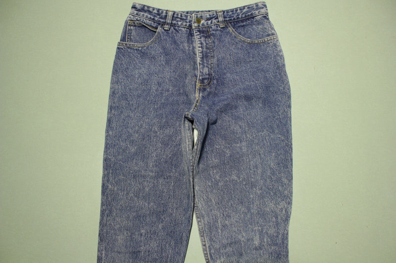 Guess Georges Marciano Vintage 80's Blue Denim Stone Washed USA Made Jeans 28x26
