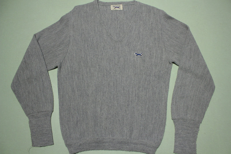 The Fox Sweater JcPenney Vintage 80s V-Neck Sweater