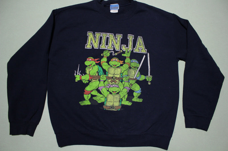Ninja Freeze Vintage 90s Teenage Mutant Ninja Turtles TMNT Crewneck Sweatshirt