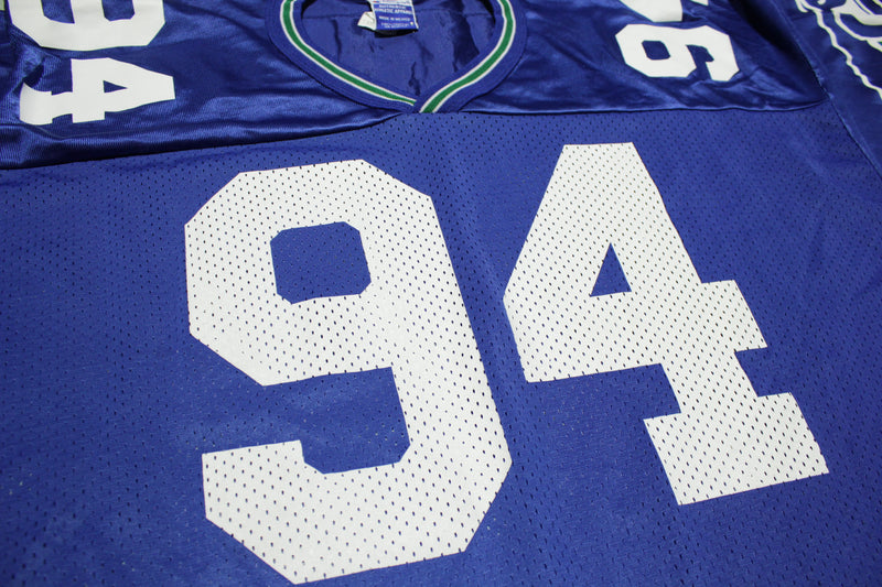 Chad Brown Seattle Seahawks Vintage #94 Champion Football Jersey