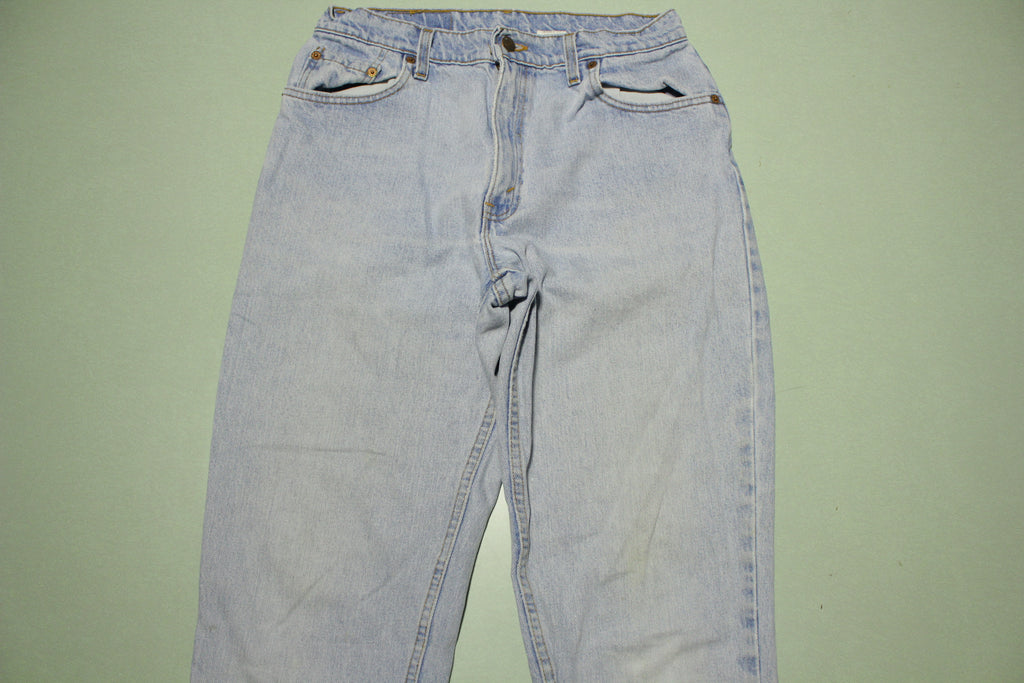 Levis 550 Tapered Leg Stone Washed 90s Made IN USA Womens Denim Jeans