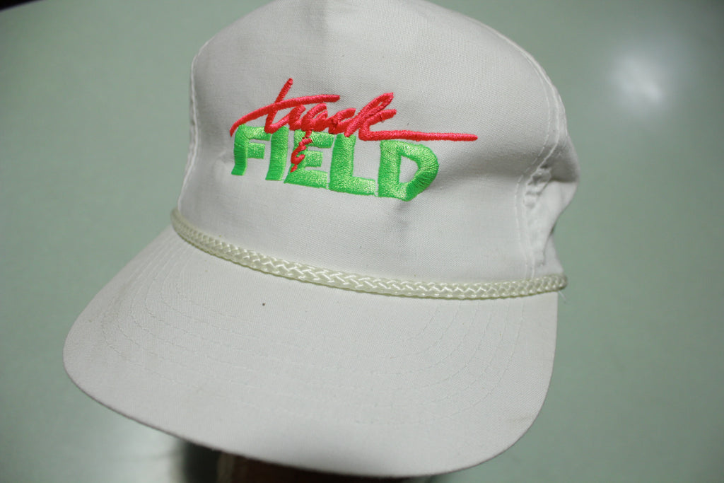 Track & Field Nintendo Vintage 90s White Adjustable Back Hat