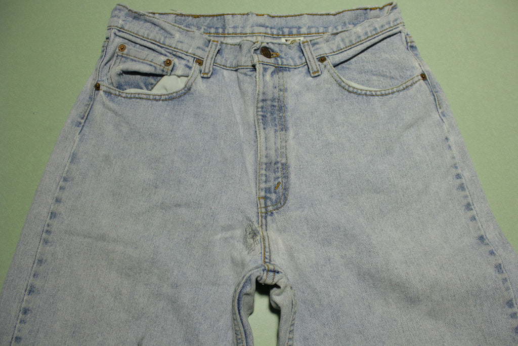 Levis 554 Baggy Fit Vintage Stone Wash Made in USA 90s Denim Jeans