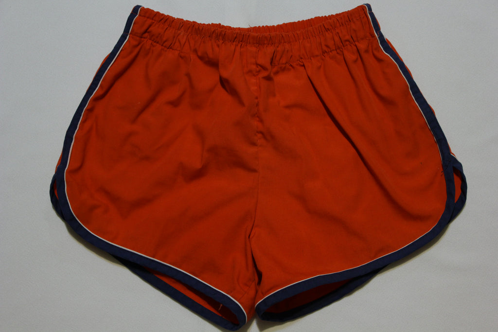 Jantzen Vintage 70's 80's Striped Swimming Shorts. Men's Small W/ Drawstring