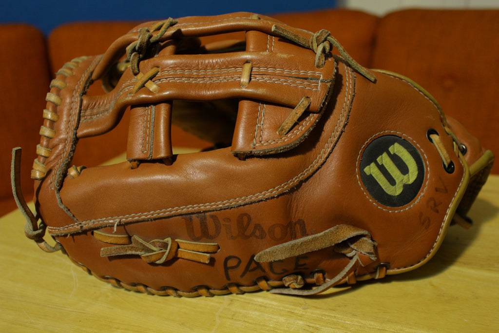 Wilson THE BIG SCOOP Leather Softball First Base Glove #A9883 LHT 1st Mitt