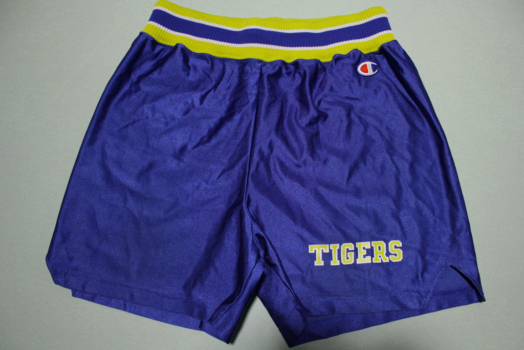 Tigers Vintage 80's Lady Champion Made in USA Gym Shorts