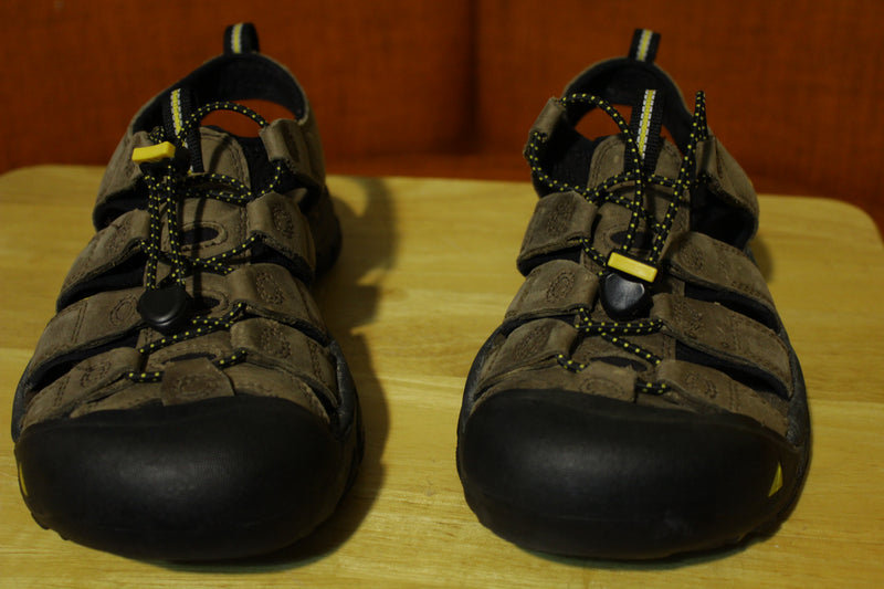 Keen Newport H2 Hiking Water Outdoor Sandal Strap Shoes Men's Brown Size 10