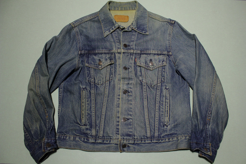 Levis 70506-0216 4 Pocket Type 3 Levis 80s Vintage Made in Canada Jean Jacket