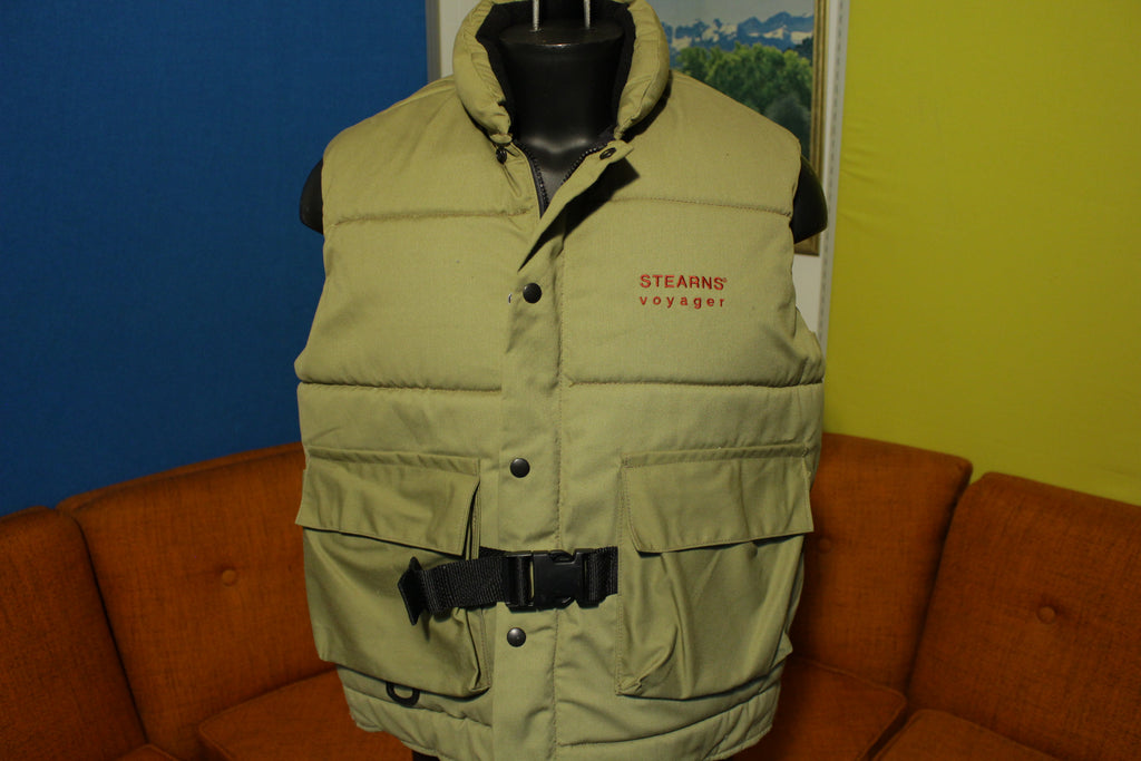 Stearns Voyager Life Vest Adult Large Type 3 Float Sport Hunting Fishing Jacket