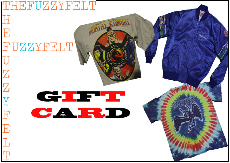 The Fuzzy Felt Gift Card