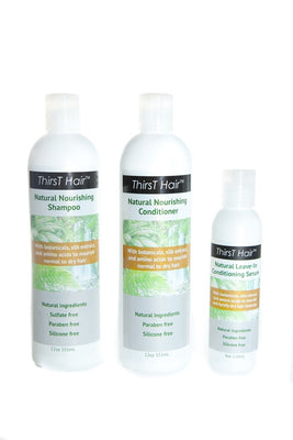 Product Kit with Serum Leave-in Conditioner