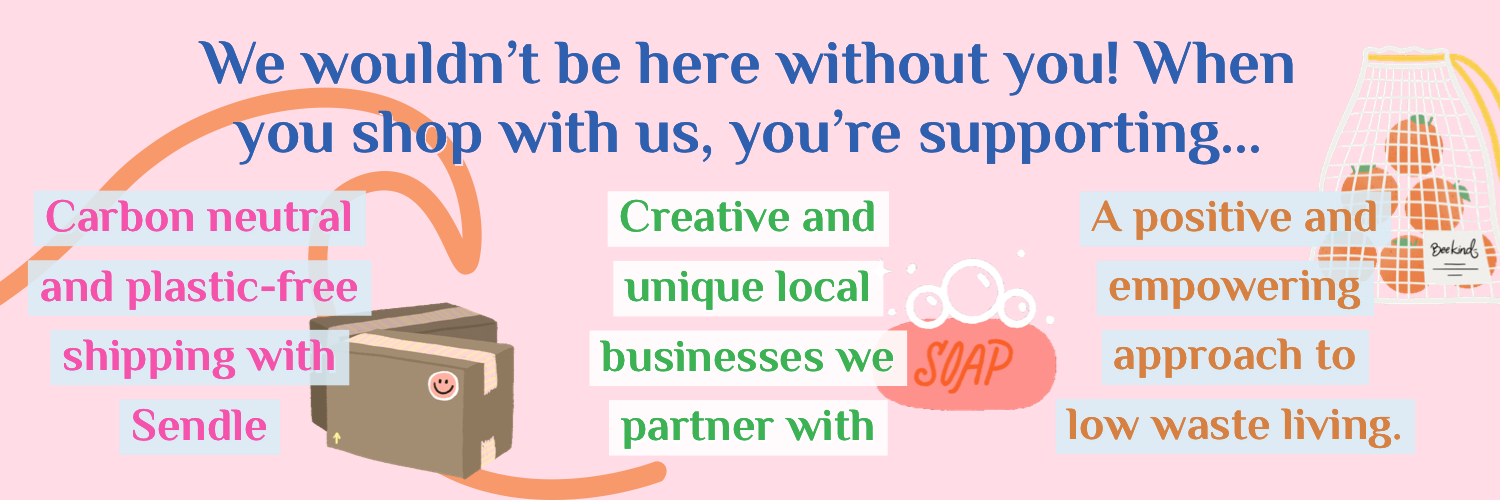 We wouldn't be here without you! Here's what sets Eco Collective apart.