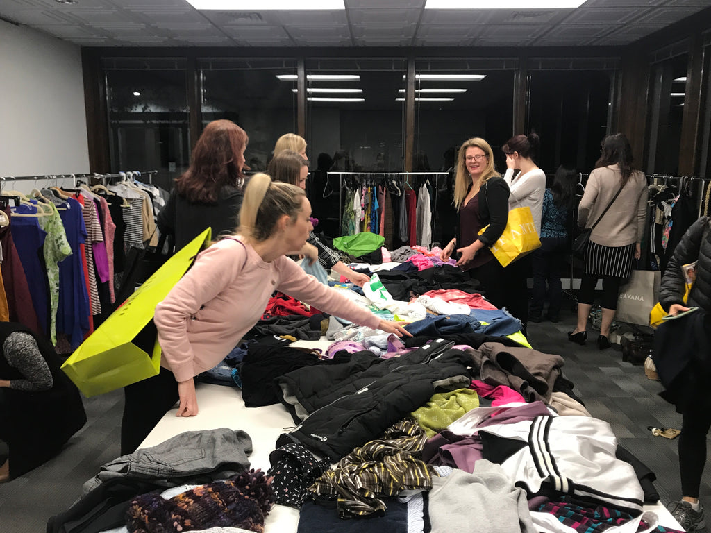 Everything you need to know to host a successful clothing