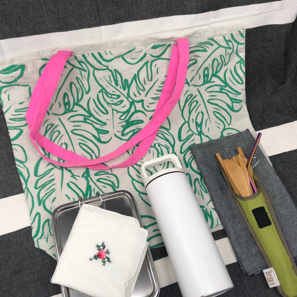 zero waste kit with MiiR thermos
