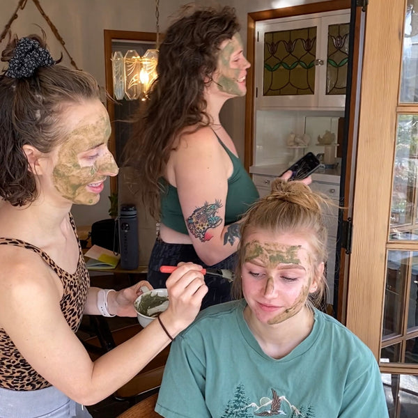Clay mask recipe for dry oily or combination skin