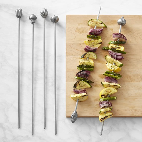 Williams Sonoma Reusable Stainless Steel Skewers