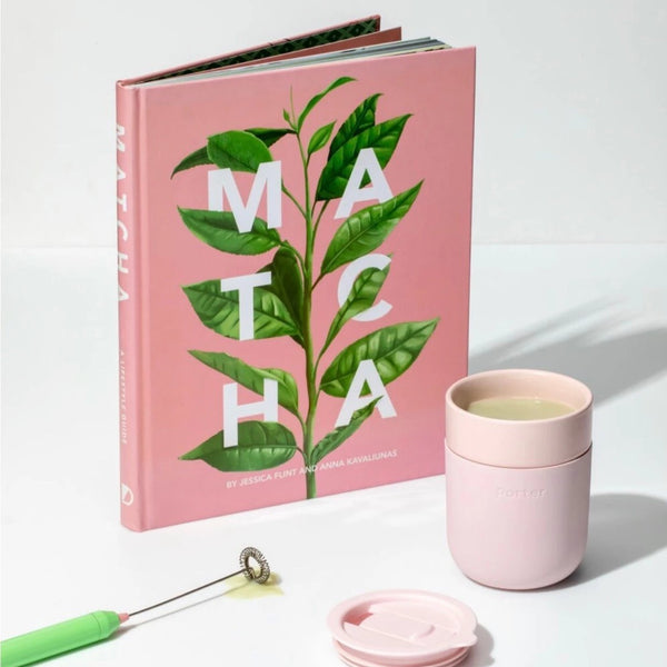 Matcha book & whisk