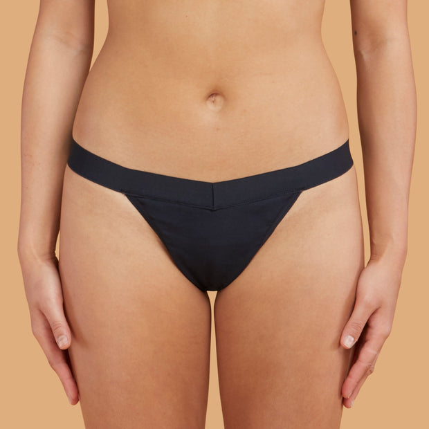 THINX organic cotton period underwear - thong - light days