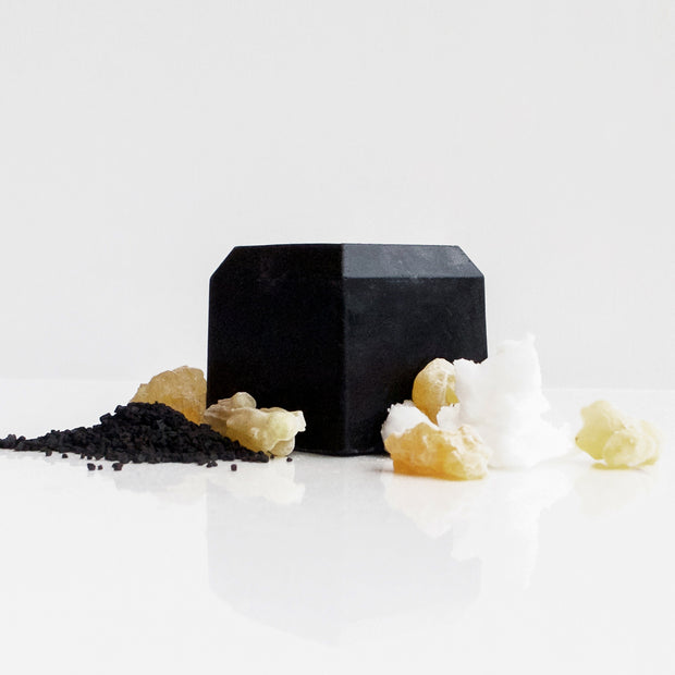 The Abyss - Detoxifying charcoal facial bar soap for normal to oily skin