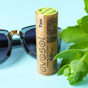 Reef safe sunscreen in a compostable tube